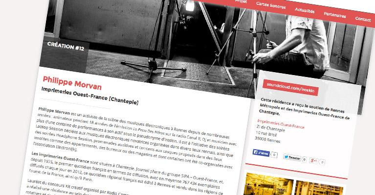 Nouveau site Metropole Electronik